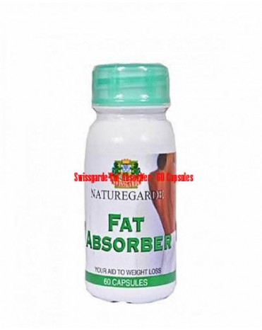 Swissgarde Fat Absorber - 60 Capsules-08060498353