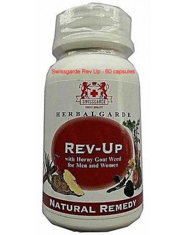 Swissgarde Rev Up - 60 capsules-Diamond Medicals Lagos Nigeria-08060498353