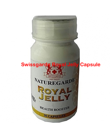 Swissgarde Royal Jelly Capsule-Diamond Medicals-08060498353