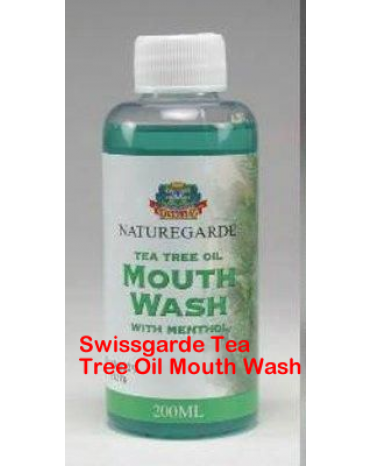Swissgarde Tea Tree Oil Mouth Wash-Diamond Medicals-08060498353